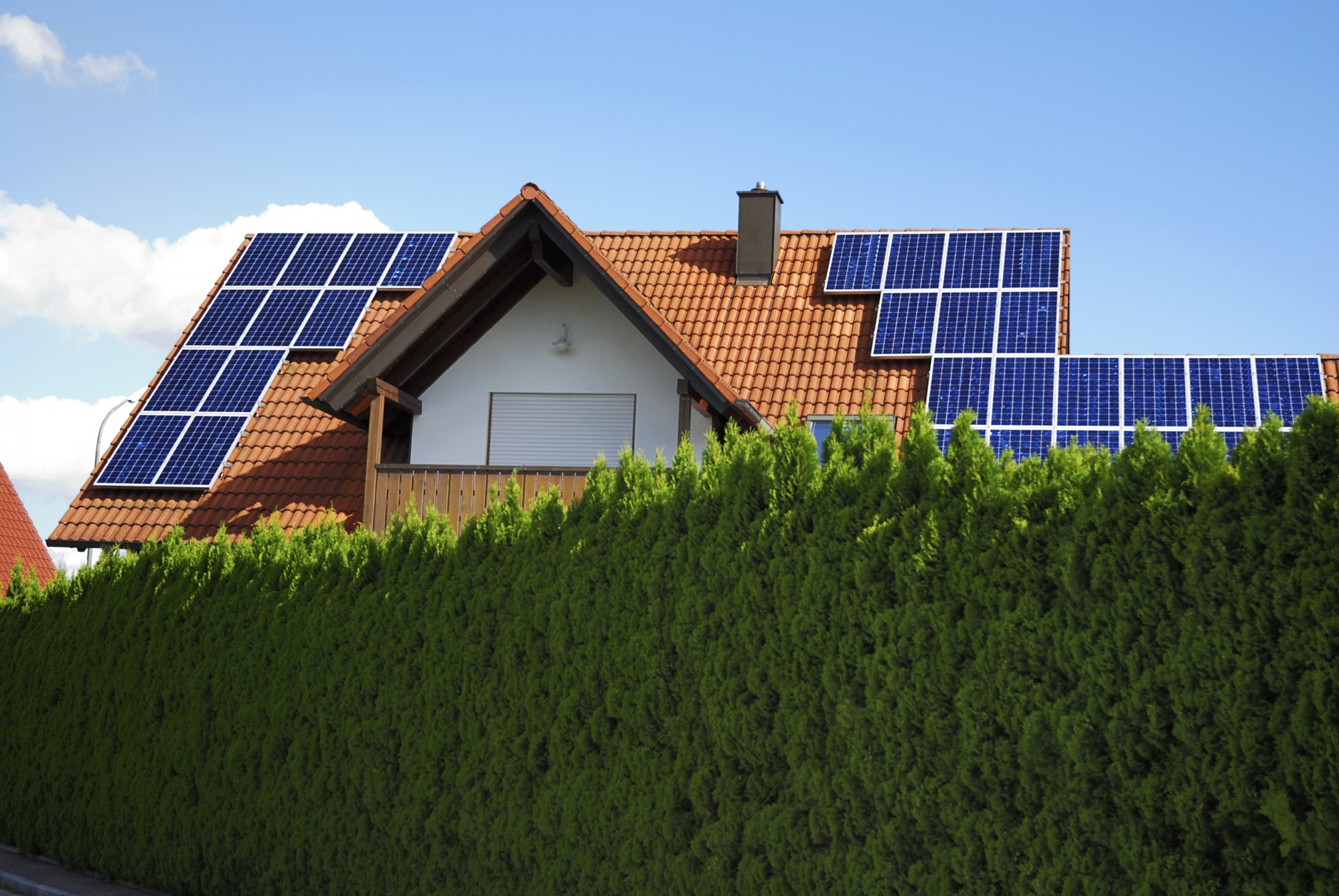 Home-with-Solar-Panels